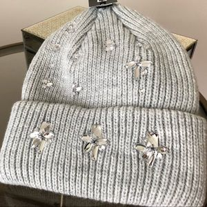 Brand New Jeweled Thick Winter Hat